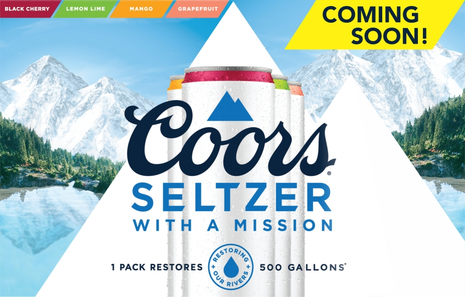 Coors Seltzers Home Page Banner