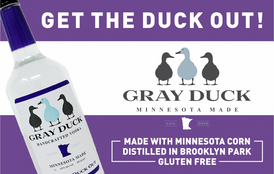 Gray Duck Vodka Home Page Banner