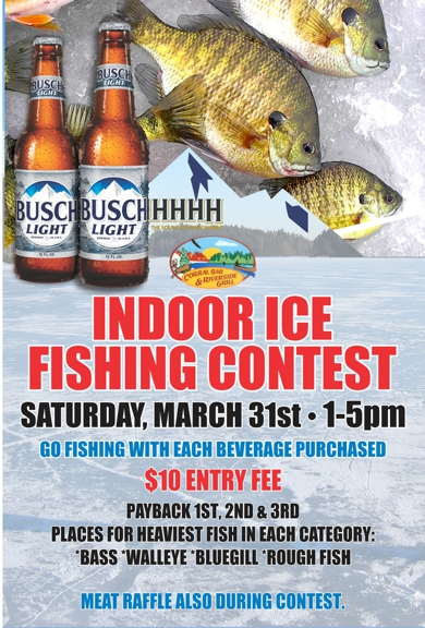 Indoor Ice Fishing Contest