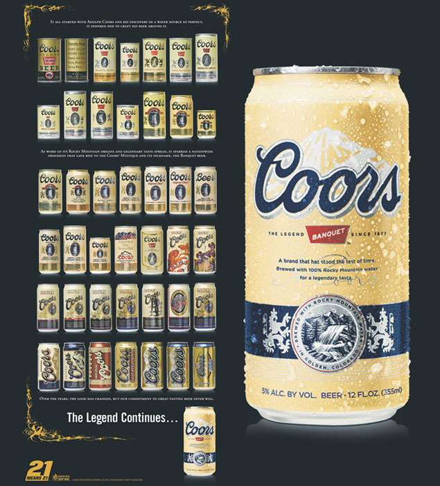 Welcome, Coors