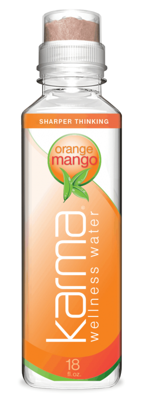 Karma Wellness Water Orange Mango for the Mind