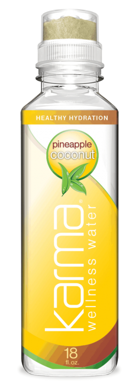 Karma Wellness Water Pineapple Coconut for Vitality