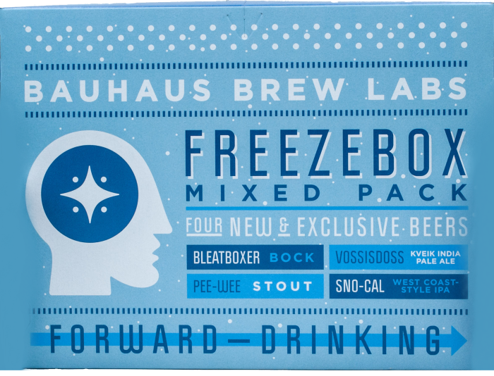 Bauhaus Freezebox Mixed Pack