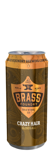Brass Foundry Crazy Hair Blonde Ale