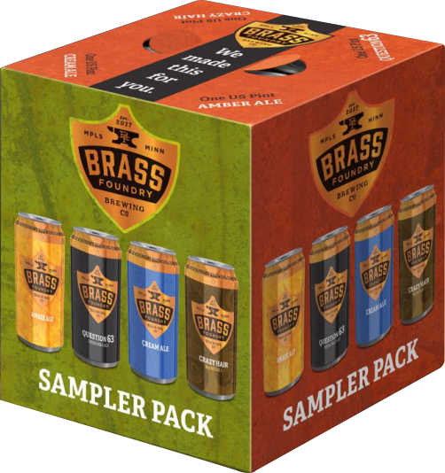Brass Foundry Sampler Variety Pack