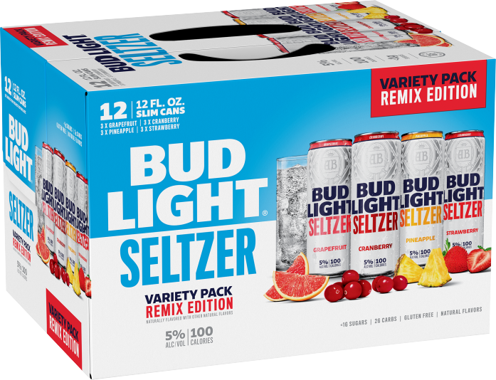 Bud Light Seltzer Variety Pack Remix Edition