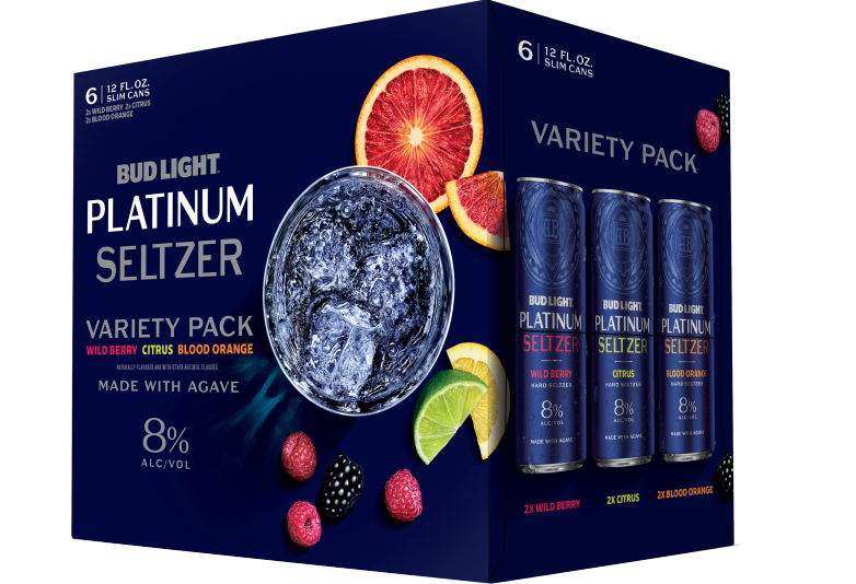 Bud Light Platinum Seltzer Variety Pack