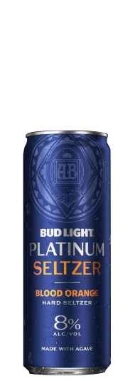 Bud Light Platinum Seltzer Blood Orange