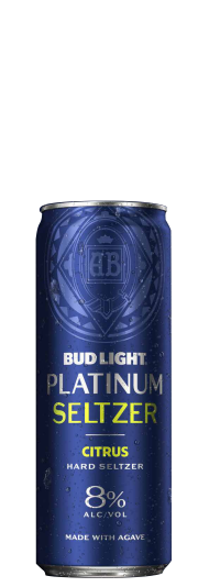 Bud Light Platinum Seltzer Citrus