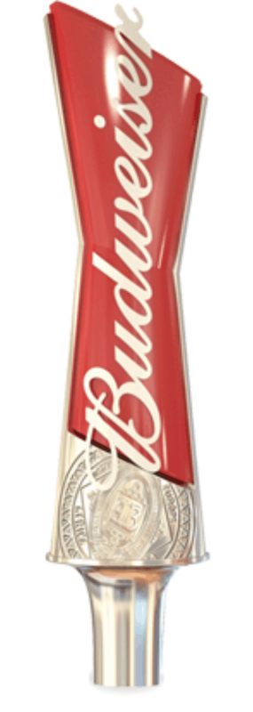 Budweiser has a beverage tapper!