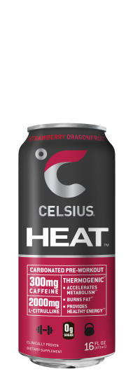 Celsius Heat Strawberry Dragonfruit
