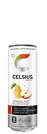 Celsius Sparkling Fuji Apple Pear
