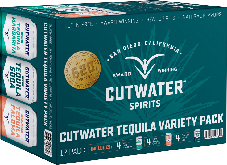 Cutwater Tequila Variety Pack