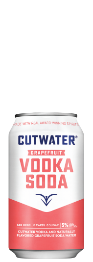 Cutwater Vodka Soda Grapefruit