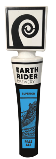 Earth Rider Superior Pale Ale has a beverage tapper!