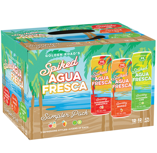 Spiked Agua Fresca Variety Pack