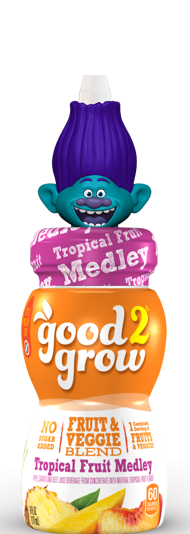 good2grow Fruit & Veggie Blend, Tropical Fruit Medley
