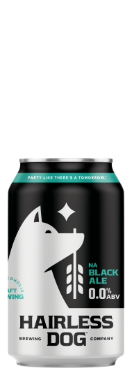 Hairless Dog Black Ale