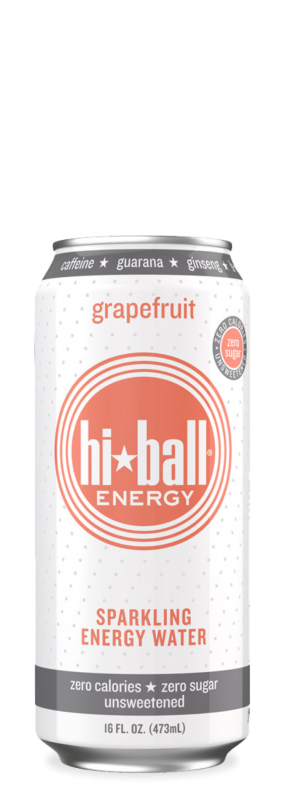 HiBall Sparkling Energy Water Grapefruit