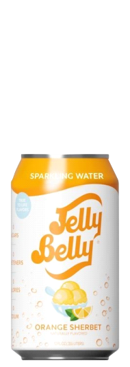 Jelly Belly Orange Sherbet Sparkling Water