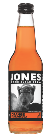 Jones Orange & Cream Soda