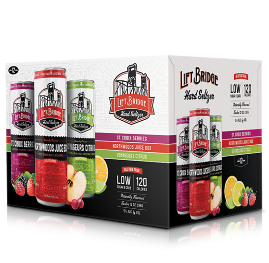 Lift Bridge Hard Seltzer Variety Pack