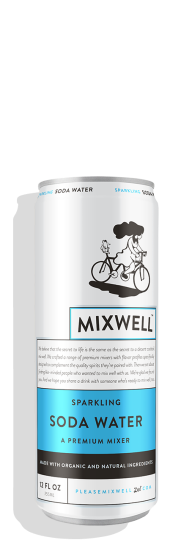 Mixwell Sparkling Soda Water
