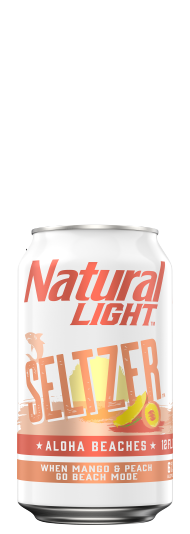 Natural Light Seltzer Aloha Beaches