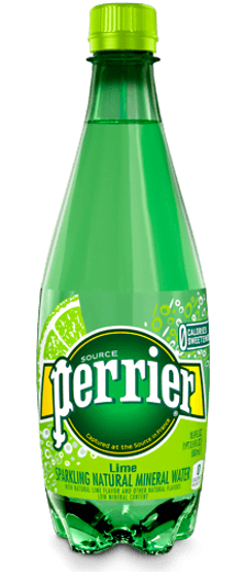 Perrier Sparkling Natural Mineral Water-Lime