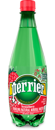 Perrier Sparkling Natural Mineral Water-Strawberry