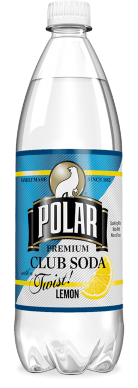Polar Club Soda with Lemon