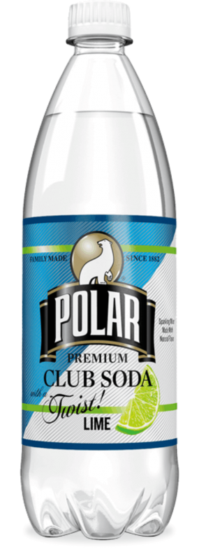 Polar Club Soda with Lime