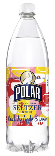Polar Seltzer Pink Lady Apple & Lemon