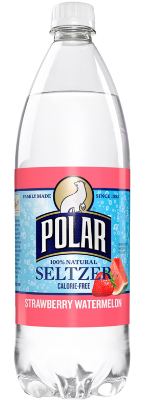 Polar Seltzer Strawberry Watermelon