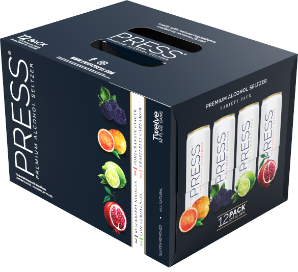 Press 12 pack Variety Pack