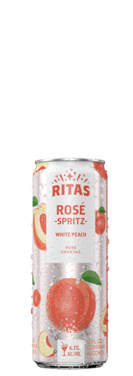 Ritas White Peach Rose Spritz