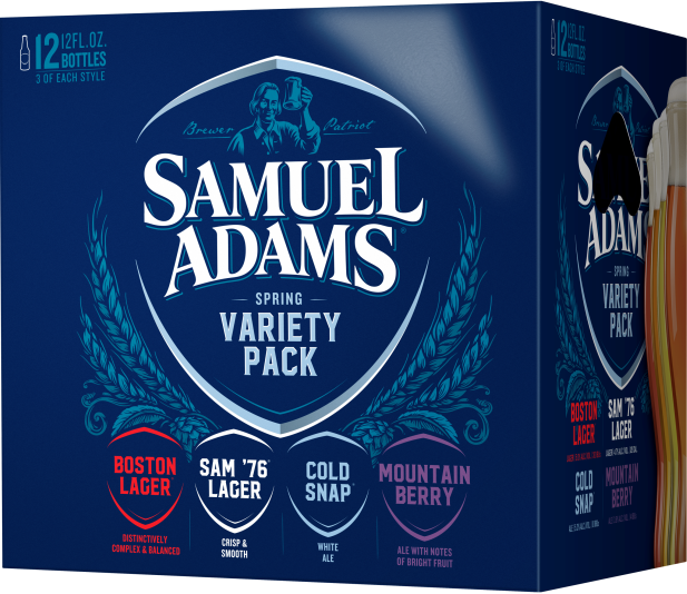 Sam Adams Spring Variety Pack
