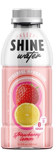 Shine Water Strawberry Lemon