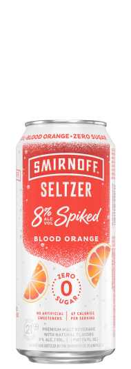Smirnoff Seltzer Blood Orange