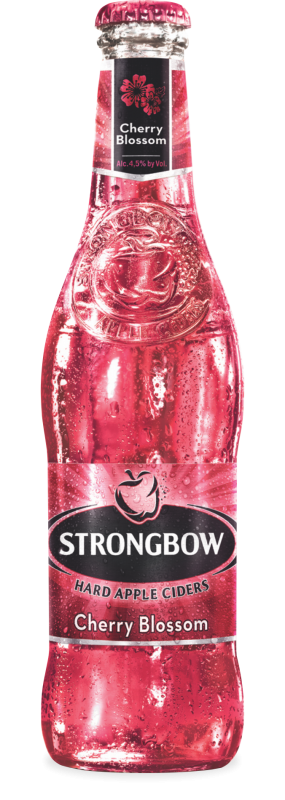 Strongbow Hard Cherry Blossom Cider