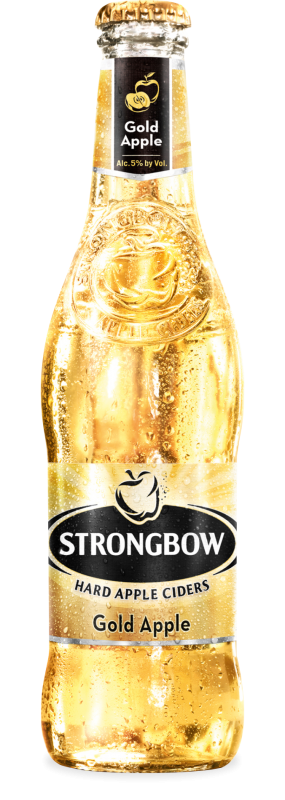 Strongbow Hard Gold Apple Cider