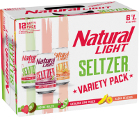 Natural Light Seltzer Variety Pack