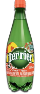 Perrier Sparkling Natural Mineral Water-Peach