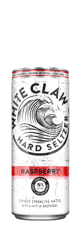 White Claw Hard Seltzer Raspberry
