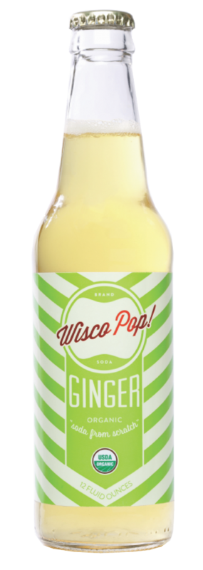 Wisco Pop Ginger Soda